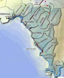 Χάρτης - Αποφραξεις Νοτια Προαστια